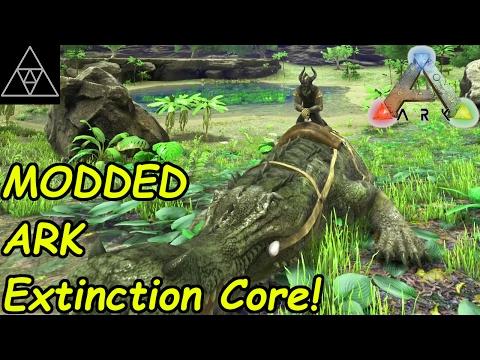 ARK Extinction Core #004 ► Schnappi das Sarco! Mobiles Zähm-Gehege?