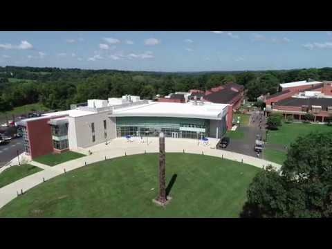 Bucks County Community College - Sample drone video clips