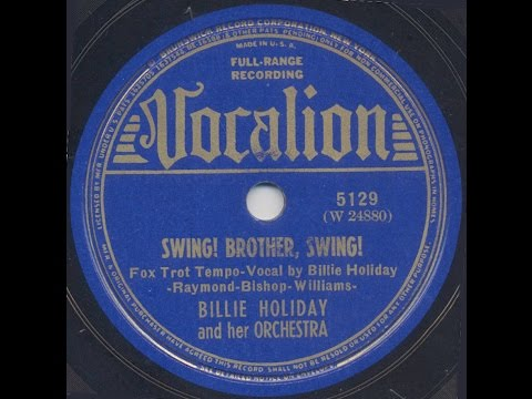 Billie Holiday / Swing, Brother Swing