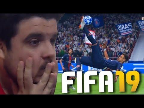 FIFA 19 VAI TER KICK OFF GLITCH E NEYMAR VOANDO! thumbnail