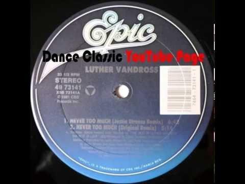 Luther Vandross  Never Too Much Original Remix 81