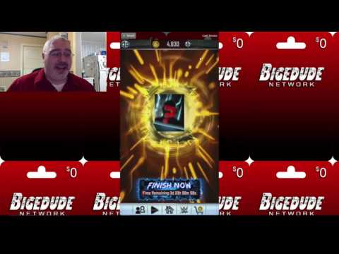 ULTIMATE FUSION!! RTG Jack Gallagher Action!! WWE Supercard #96 - 동영상