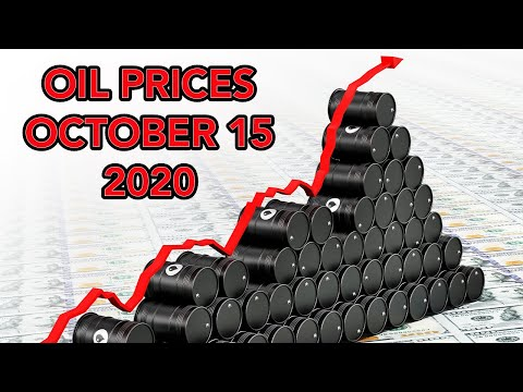 OIL PRICES OCTOBER 2020 - SHALE OIL DROPS AS DEMAND INCREASES