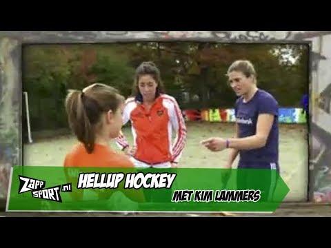 HELLUP! Hockey met Kim Lammers | ZAPPSPORT