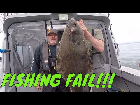 Halibut Fishing Fails, MONSTER Halibut, & BIG Ling Cod | Addicted Life Ep. #9 🎣