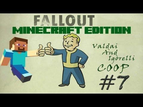 Смотреть прохождение игры [Coop] Minecraft Fallout Adventure. Серия 7 - Полет на луну.