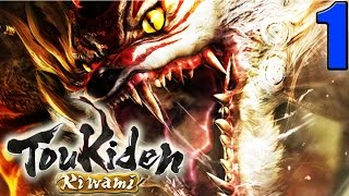 Toukiden Kiwami Walkthrough Part 1 - Character Creation, First Boss - PS4 PC Gameplay English HD