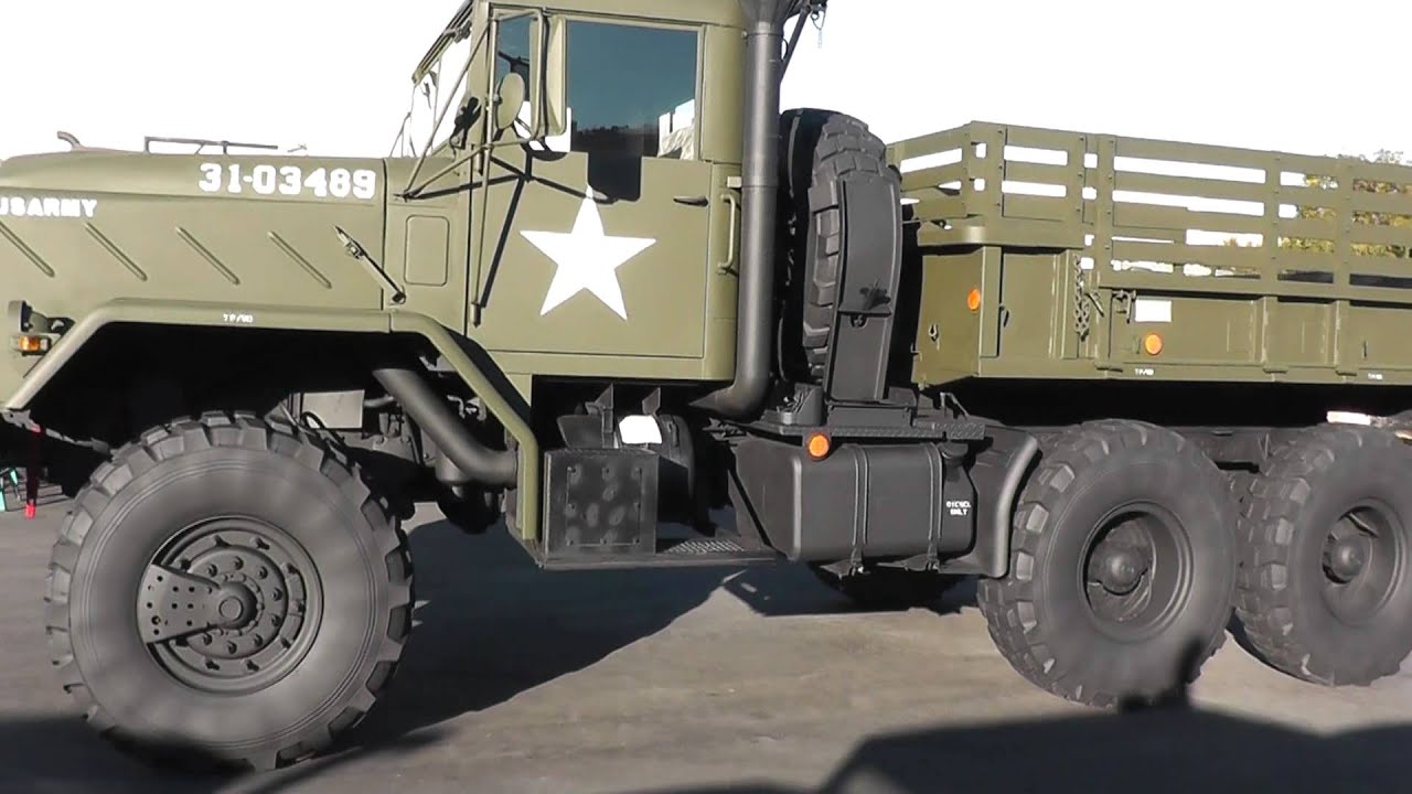 6x6 Military M931a2 Shorty Cargo Truck 967 Youtube
