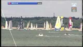 Rolex Fastnet Race 2013 - Imoca 60 start