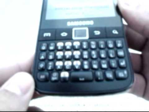Unboxing - Samsung Galaxy Y Pro (Português-BR)