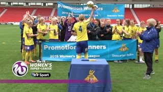 Doncaster Rovers Belles 4-0 Millwall Lionesses | Goals & Highlights