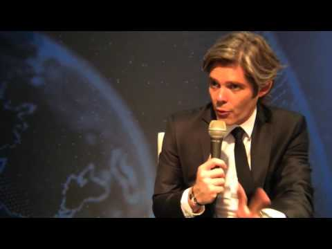 Michael Peters, Africanews's CEO at DISCOP Africa 2015