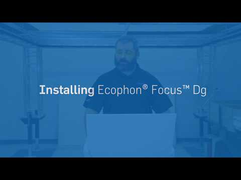 Ecophon® Focus™ Dg: How-To Install Semi Concealed Ceiling Panels