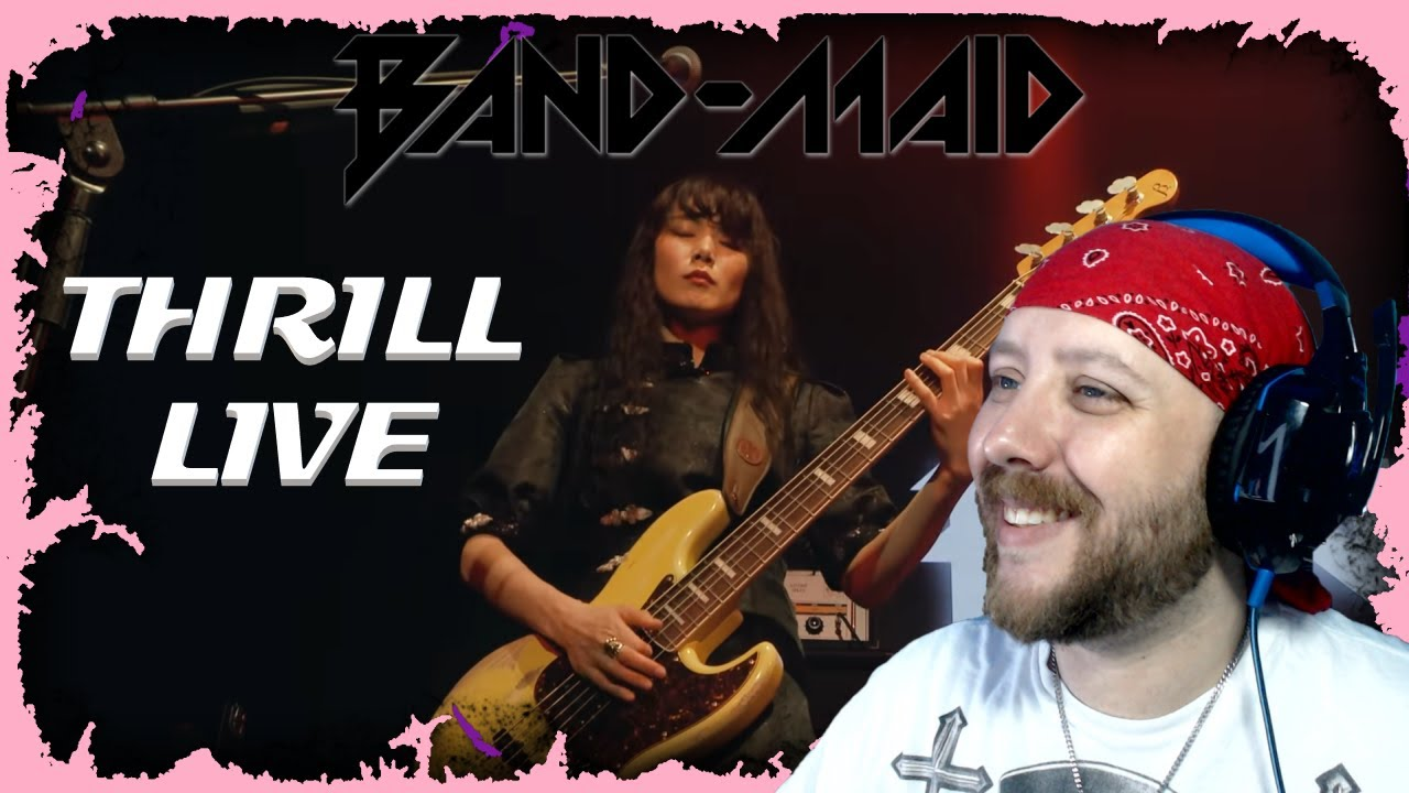 BAND-MAID / Thrill (スリル) (Official Live Video) Reaction | Metal Musician Reacts