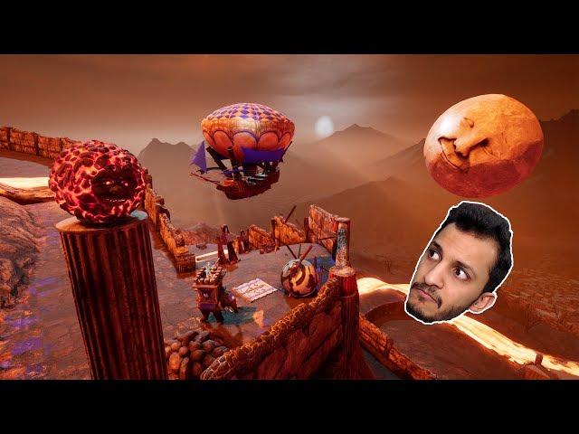 لعبة التدحرج | وش هالأسد النشبه!! Rock of Ages 2