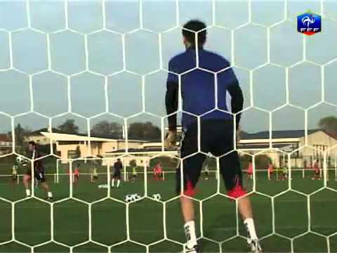 Video clip tập luyện của thủ môn
