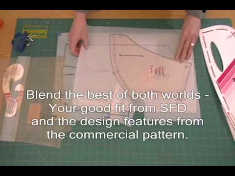 Example 3 jacket how to fit commercial patterns with sure fit example 3 jacket how to fit commercial patterns with sure fit designs youtube malvernweather Images