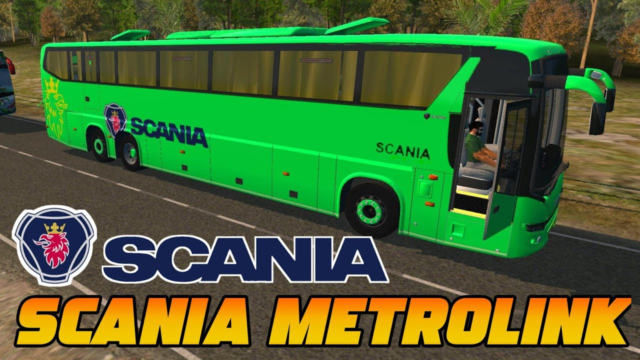 Scania Metrolink Bus Mod For Bus Simulator Indonesia New Livery Scania Livery Bussid Bussid Youtube