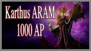 League of Legends ARAM 1000 AP Karthus HD
