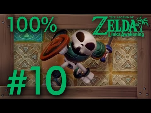 Zelda Link's Awakening (Switch): 100% Walkthrough Part 10 - Catfish's Maw (Dungeon Level 5)
