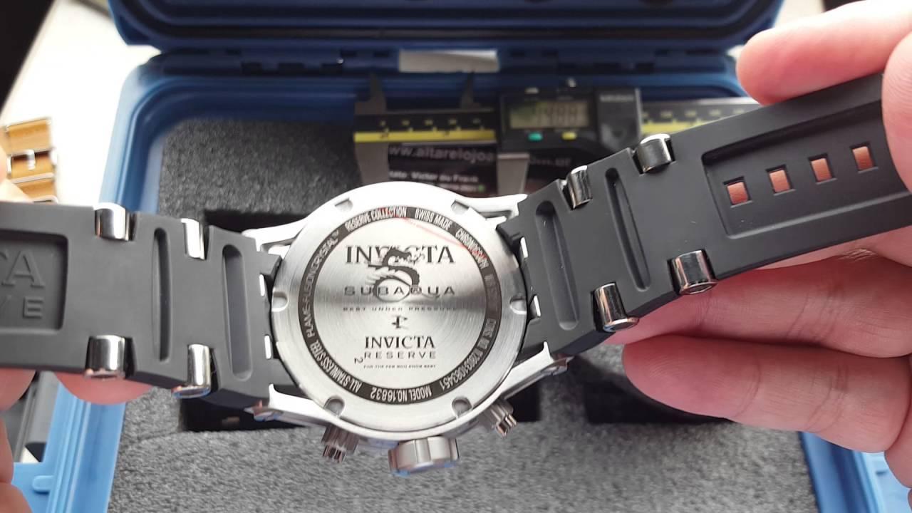 Relógio invicta reserve subaqua lançamentos 16829 , 16830 , 16832 na  altarelojoaria - YouTube