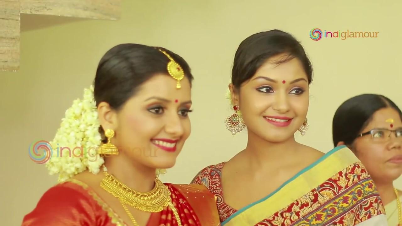 Malayalam Actress Sarayu Wedding Reception Youtube