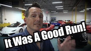 Why I'm Excited to be Selling Half of My Cars