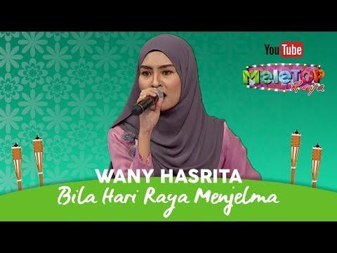 Wany Hasrita anggun persembah Bila Hari Raya Menjelma Dato' Sri Siti Nurhaliza | Live MeleTOP Raya