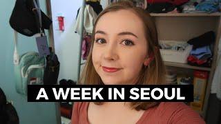 A Week in My Life in Seoul (Korea Exchange Student VLOG)