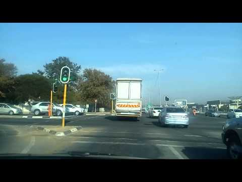 Beautiful View of Rivonia Road, Johannesburg on 02 July 2015