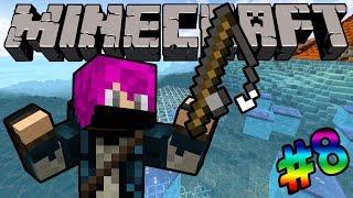 LÀM NGƯ DÂN VÀ LƯỚI CÁ THẦN THÁNH!! (Minecraft Thế Giới Băng Lửa #8)