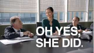 FUNNY Nissan Micra Commercial: Oh Yes She Did - 2/3