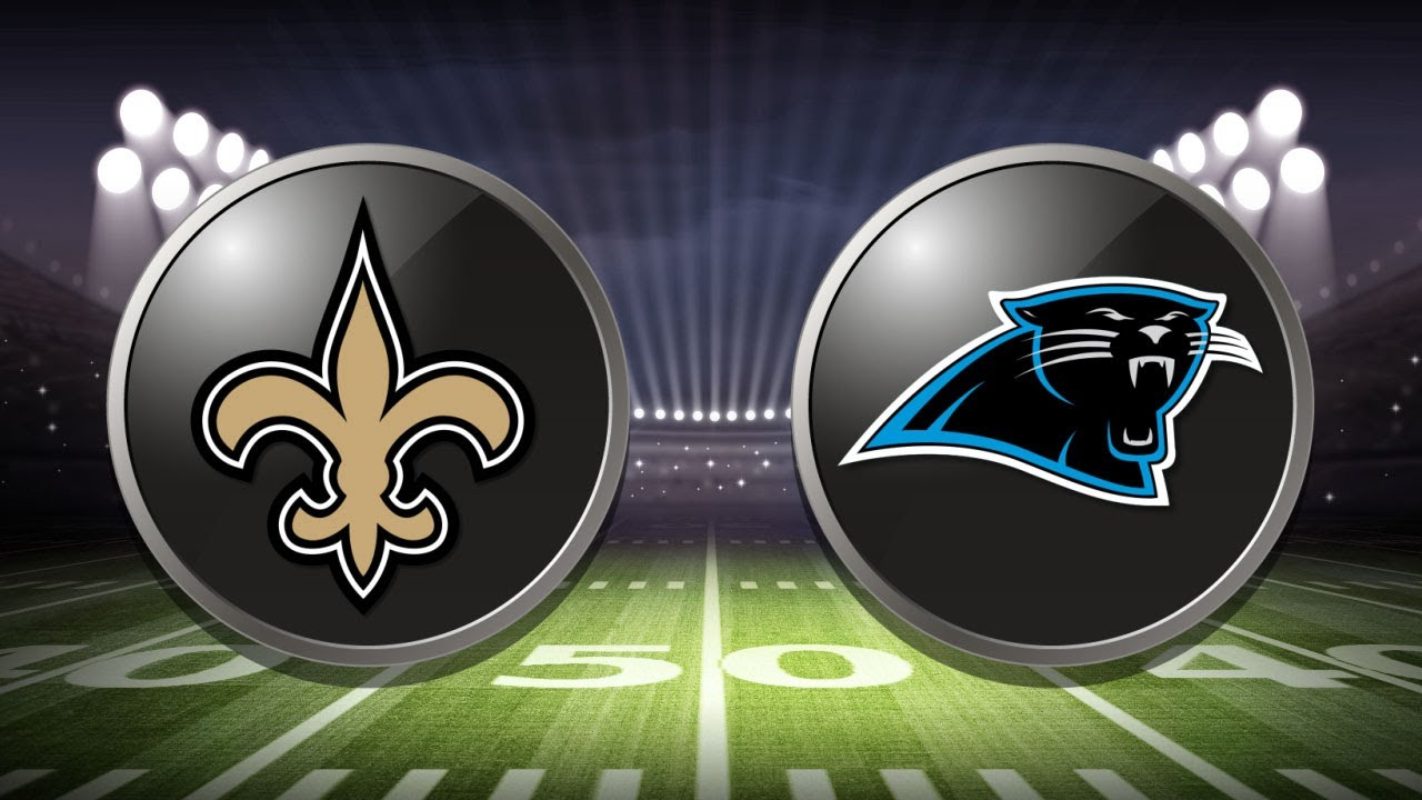 Image result for Saints vs. Panthers