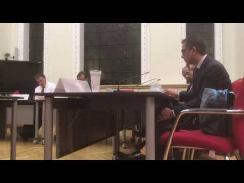 Greenwich Council  - Regeneration, Transport, Culture Scrutiny 13 Dec 2016 Part 11