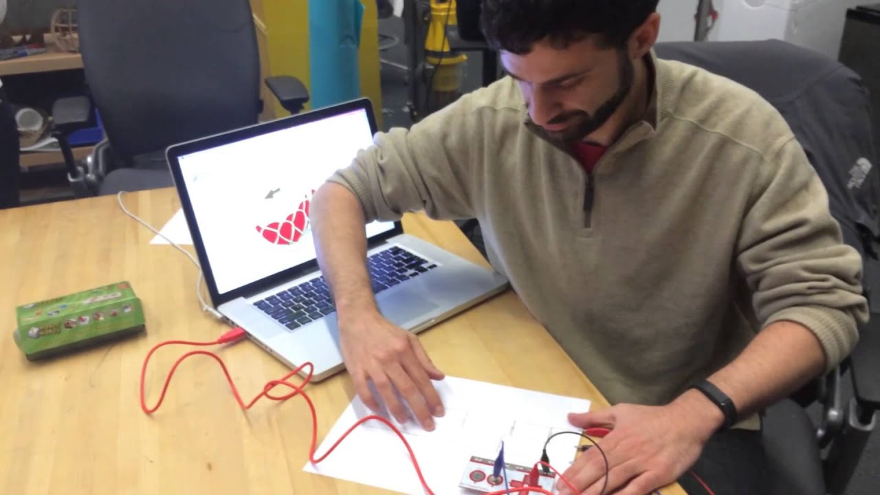 Video Circuit Scribe Great Installation Of Wiring Diagram Conductive Pen Makey Youtube Rh Com Girl