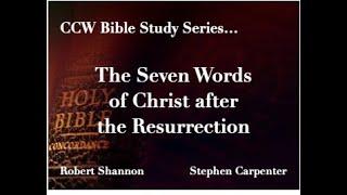 Ccw Bible Study