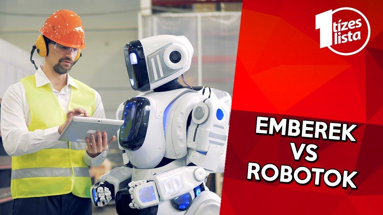 Download 10 munka, amit a robotok el fognak venni  az emberektől
