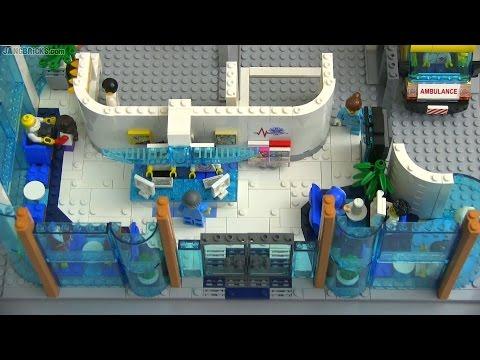 Custom LEGO hospital MOC progress #2
