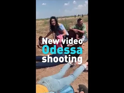 New Footage from the Midland-Odessa mass shooting