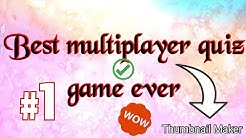 🔴Best multiplayer quiz game ever with gameplay  