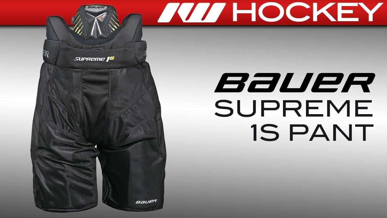 c2c413cda17 Bauer Supreme 1S Pant Review - YouTube