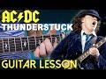 Thunderstruck Guitar Lesson (AC/DC)