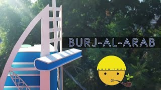 How to make a model of Burj-al-Arab | Full Video | Model Making with Sumit