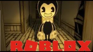 BENDY AND THE ROBLOX MACHINE!! | Roblox BaTIM RP
