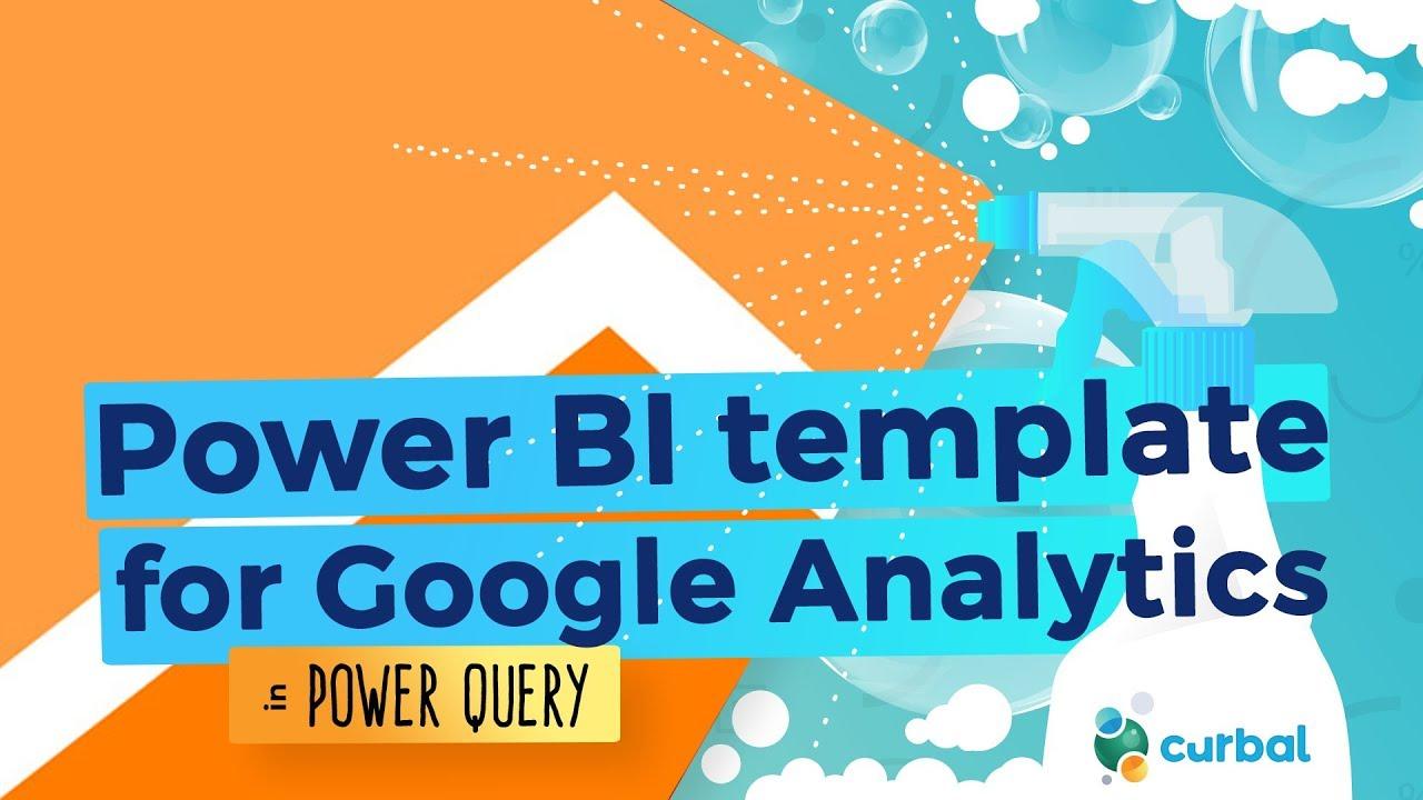 Power BI Template for Google Analytics