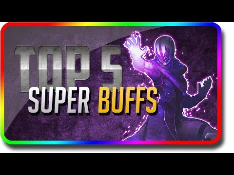 "Destiny 2 - ""Top 5 Super Buff Changes"" in Black Armory (Destiny 2 Black Armory DLC ""Top 5 Supers"") thumbnail"