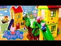 Peppa Pig Playground Construction Toys - Parque de Juegos de Peppa Pig y George