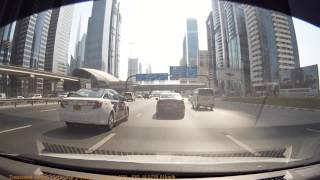 Dubai Taxi Reckless Driving