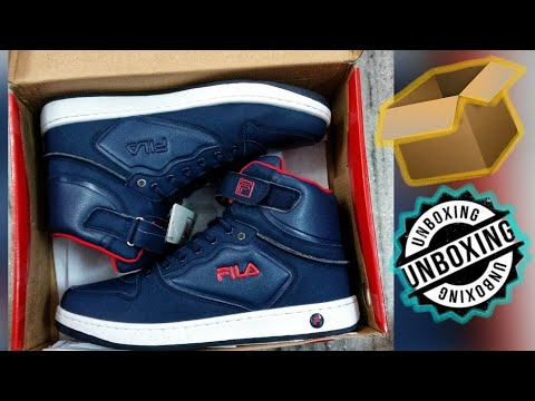 new products db379 5ec5e Fila Roberto Mid Ankle Sneakers(Red) Unboxing.