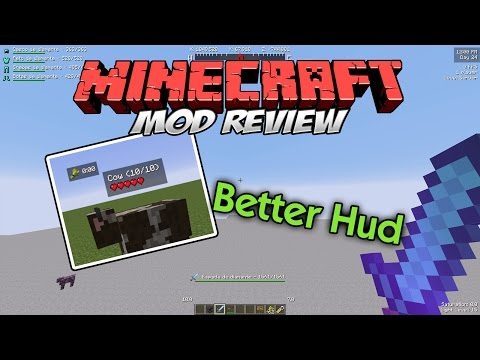 1 7 10] Better HUD Mod Download | Minecraft Forum